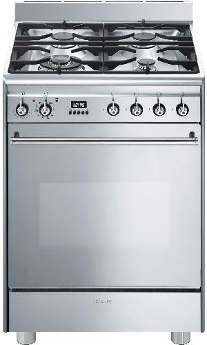 Cuisinière Gaz SMEG GP61X9