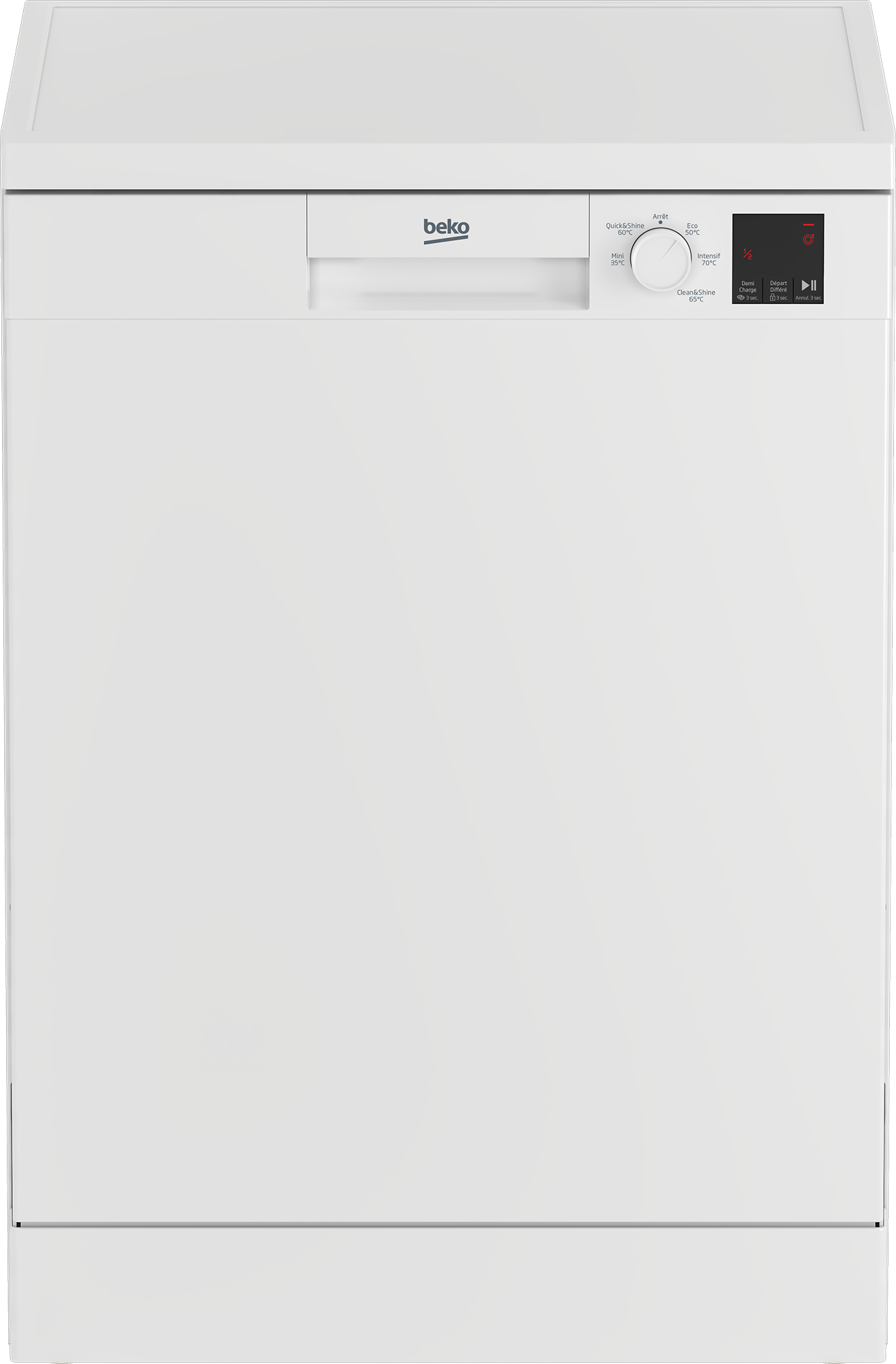 Lave-vaisselle 60 cm BEKO TDFV15315W