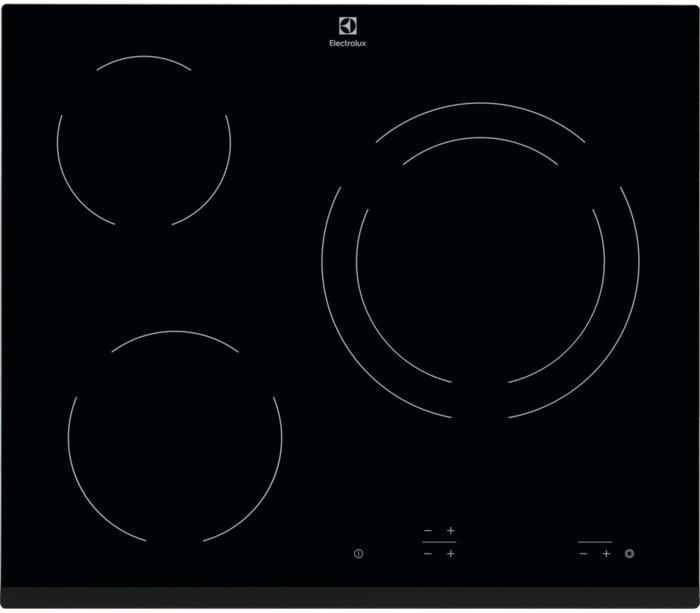 Table de cuisson Vitrocéramique ELECTROLUX EHF6231FOK
