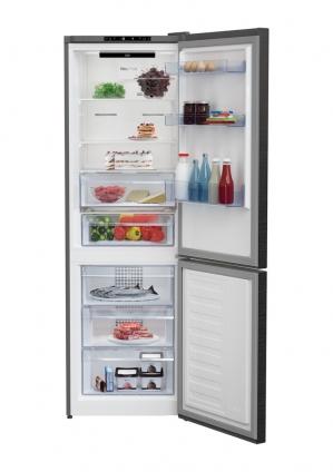 Réfrigérateur Combiné BEKO RCNA366I30ZXR